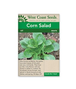 West Coast Seeds Corn Salad Vit