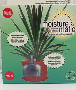 Moisture Matic Automatic Pot Plant Watering System 400 Ml
