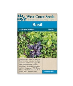 West Coast Seeds Kitchen Blend Basil