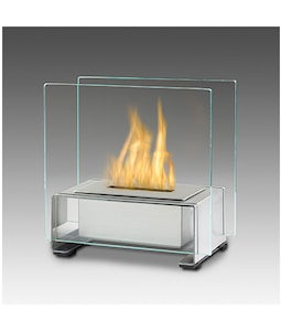 Eco Feu Paris Stainless Table Top Fireplace