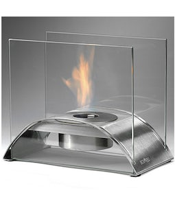 Eco Feu Sunset Table Top Stainless Fireplace