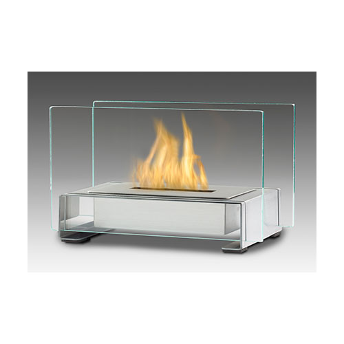 Eco Feu Toulouse Stainless Table Top Fireplace Golden