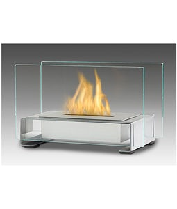 Eco Feu Toulouse Stainless Table Top Fireplace