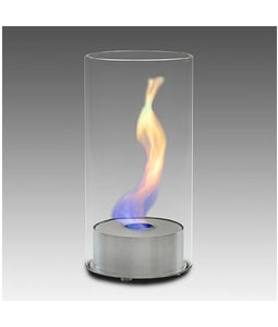 Eco Feu Juliette Stainless Table Top Fireplace