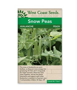 WEST COAST SEEDS PEAS AVALANCHE