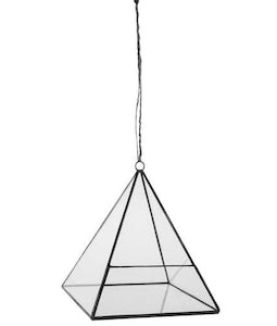 PYRAMID GEOMETRIC HANGING TERRARIUM BY SYNDICATE SALES