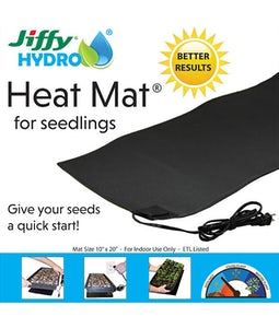 "JIFFY HYDRO SEEDLING HEAT MAT 10""x20"""