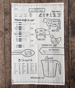 MEASURE UP DISH TOWEL
