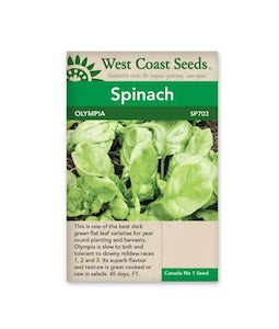 SPINACH OLYMPIA