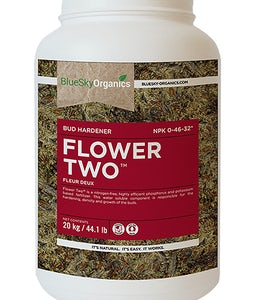 BLUE SKY ORGANICS FLOWER TWO 2 KILOGRAMME