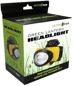 GREEN EYE GREEN LED HEADLAMP